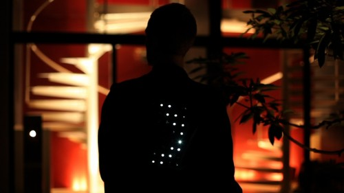 iPhone Controlled Illuminated Jackets