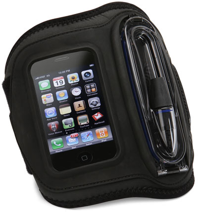 Can You Hear Me Now: Waterproof iPhone Armband Works 12 Feet Underwater