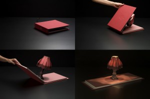 Book of Light is a Book with a Light INSIDE