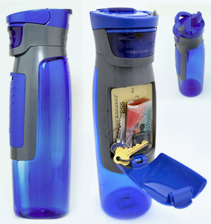 Contigo Sports Bottle With Keys and Money Compartment