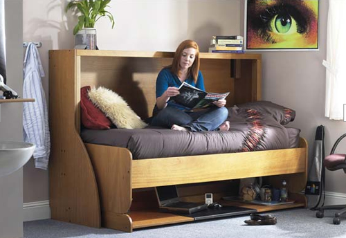 StudyBed Converts from Desk to Bed Craziest Gad s