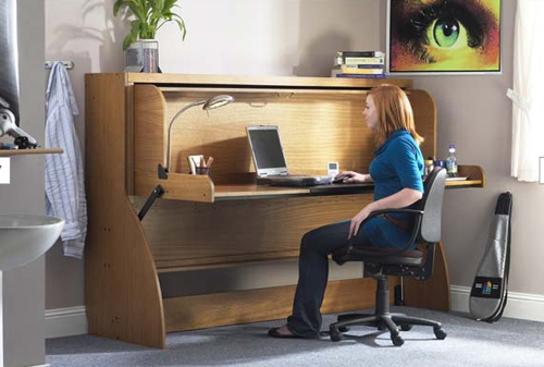 StudyBed Converts from Desk to Bed