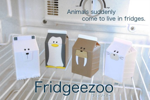 fridgeezoo 500x333 Fridgeezoo Talking Fridge Pets