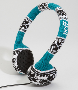 knit headphones Neff Knitted Headphones