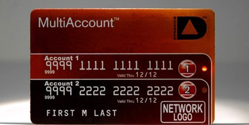 multi account credit card Pinboard
