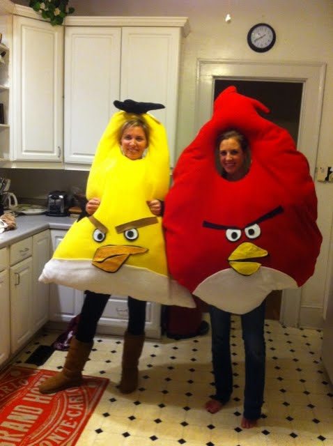 angry birds costumes Angry Birds Halloween Costumes