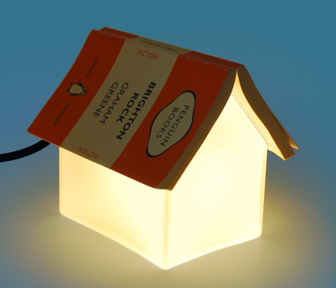 Book Rest Lamp is a Little House