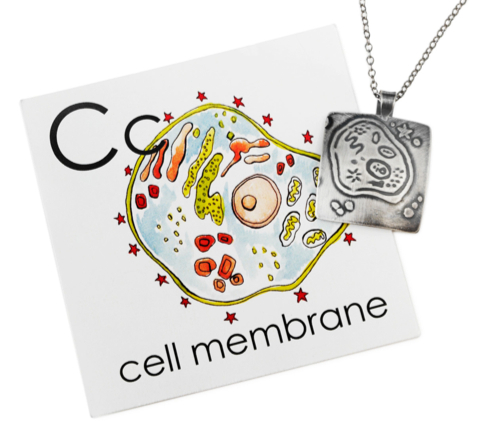 Nerd Fashion Alert: Cell Membrane Necklace