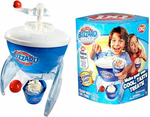dq blizzard maker 500x391 Gifts Ideas for People with a Sweet Tooth