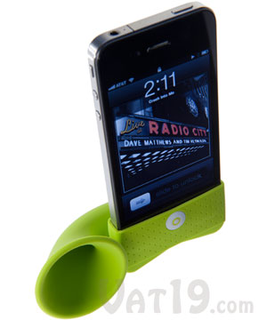 iphone horn stand green Pinboard