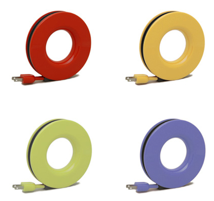Extension Cord with Circular Hub