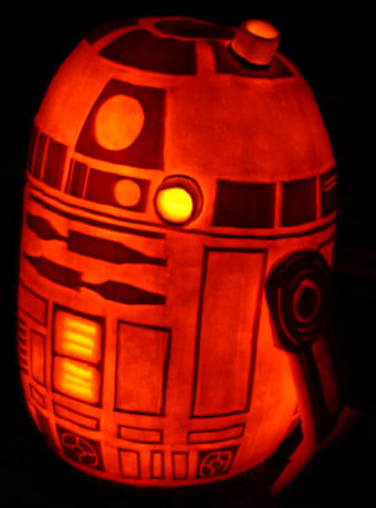 r2d2 pumpkin Three Interesting R2 D2 Variations