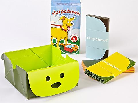 Slurpabowl Portable Dog Water Bowl