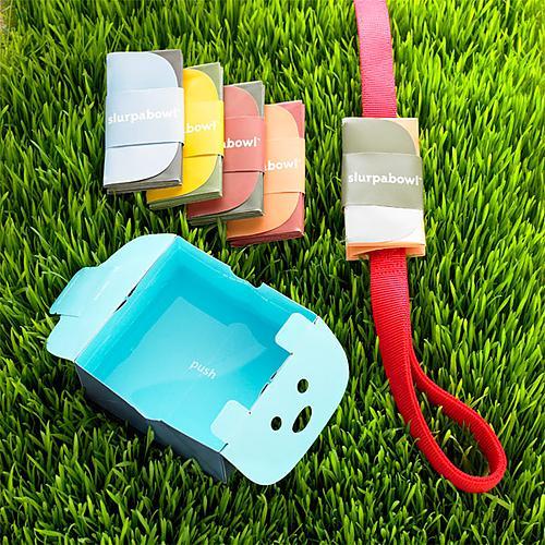 slurpabowl2 Slurpabowl Portable Dog Water Bowl