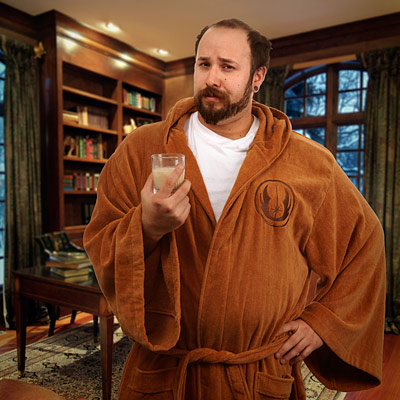 star wars jedi bath robe Star
