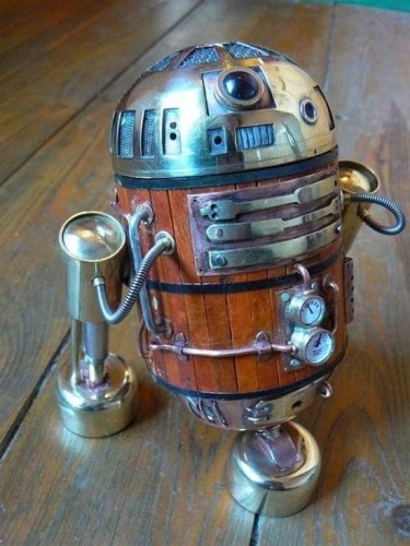 steampunk r2d2 375x500 Three Interesting R2 D2 Variations