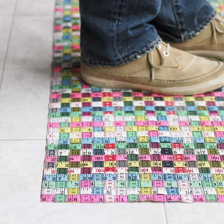 Tape Measure Doormat