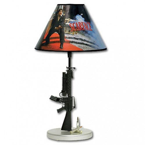 Say hello to my little friend, a Scarface USB Mini Lamp