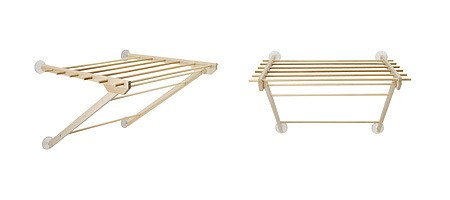 Window Mounted Clothes Drying Rack