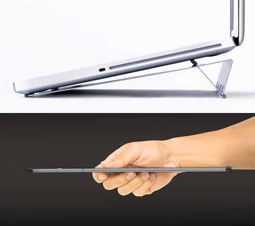 AViiQ: World's Thinnest Laptop Stand