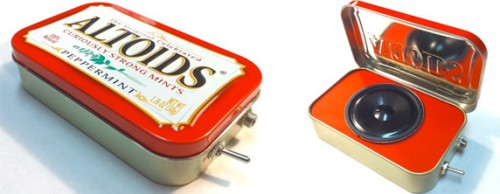 Altoids Tin MP3 Speaker