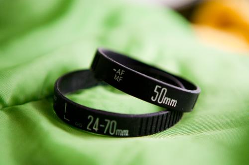 Camera Lens Bracelets