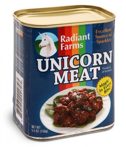 canned unicorn meat 428x500 Pinboard