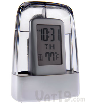 Water Powered Digital Alarm Clock