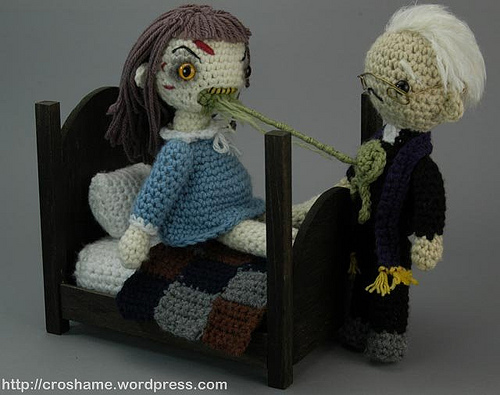 Exorcist Crochet Playset