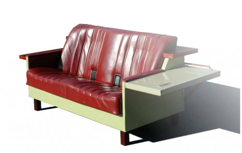 Fabulous Fridgecouch Is A Couch Made From A Recycled Fridge Creativecarmelina Interior Chair Design Creativecarmelinacom