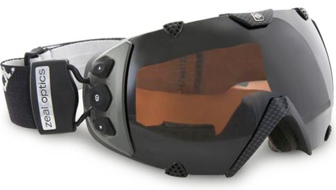 GPS Displaying Ski Goggles
