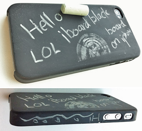 Chalkboard iPhone Case