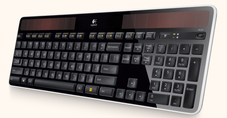 Solar Powered Keyboard from Logitech