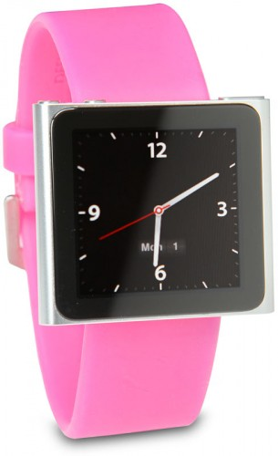 NanoWatch Turns Your iPod Nano into a Watch