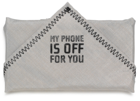 phonekerchief Phonekerchief is a Not So Subtle Reminder to Turn Off Your Phone