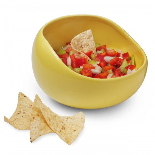 Spill Proof Salsa Bowl