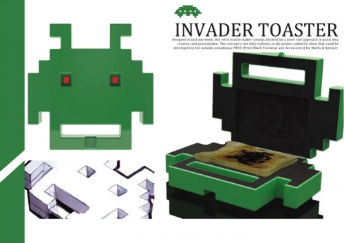 space invaders toaster 500x353 Pinboard