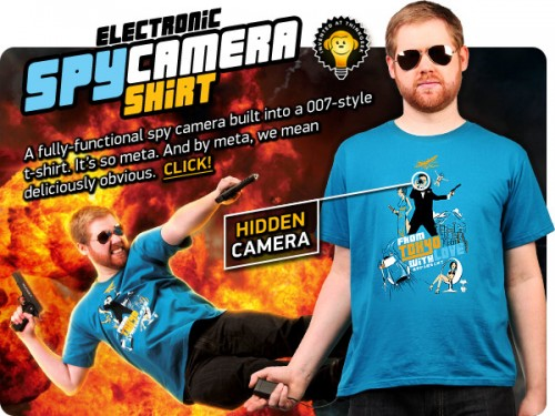 Electronic Spy Camera T-Shirt
