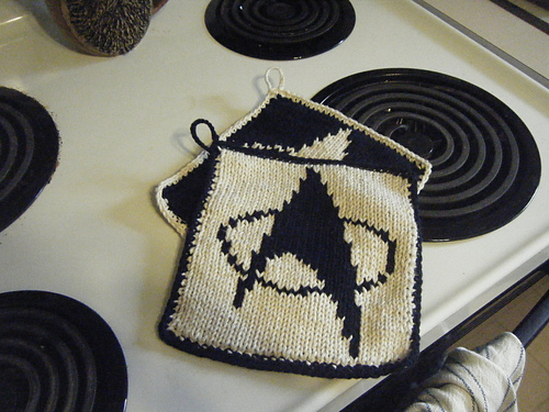 Star Trek Pot Holders