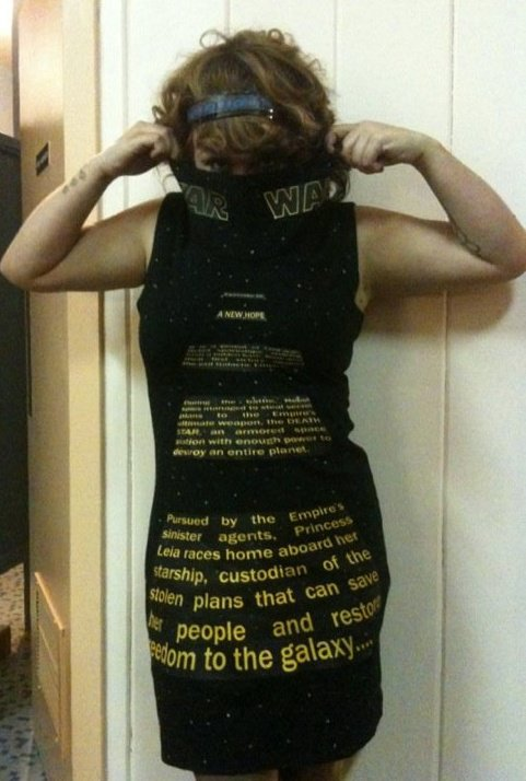 Star Wars Scroll Dress