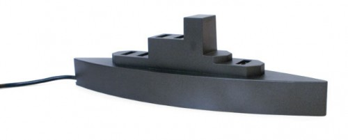 "USB Battleship Hub: (Insert Your Own ""Port"" or ""Dock"" Joke Here)"