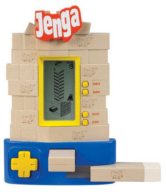 electronic jenga 10 New Twists on Classic Board Games (Gift Guide)