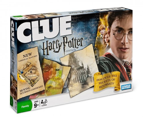 harry potter clue 500x424 10 New Twists on Classic Board Games (Gift Guide)