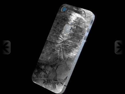 "T-Rex Tooth Backed, Diamond Encrusted ""Luxury"" iPhone 4 History Edition Announced"