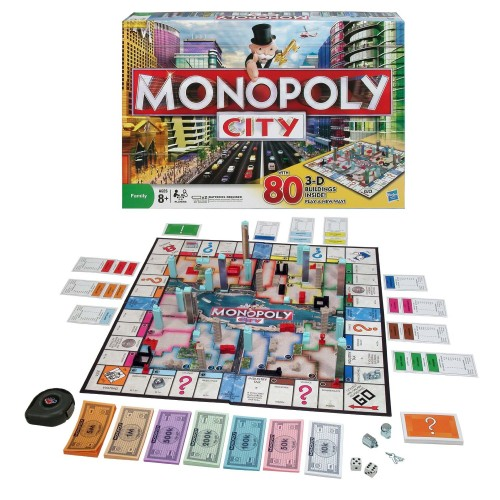monopoly city edition 500x500 10 New Twists on Classic Board Games (Gift Guide)