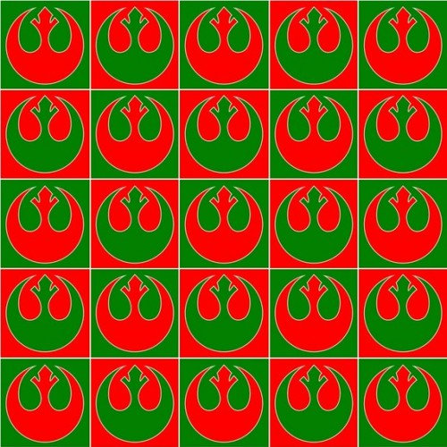 Rebel Alliance Wrapping Paper Let's You Know If You've Been Nice This Year