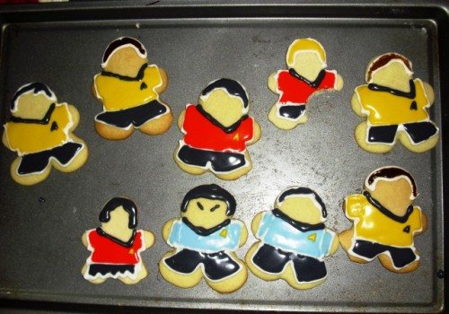 Star Trek Cookies Won't Live Too Long nor Prosper