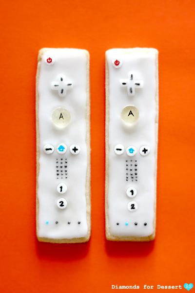Wii Controller Cookies