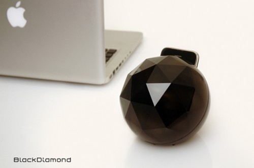 The Epcot Center-like Yantouch Black Diamond iPod Dock