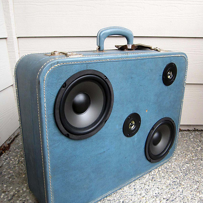 boomcase Boomcase: Vintage Suitcase Boomboxes